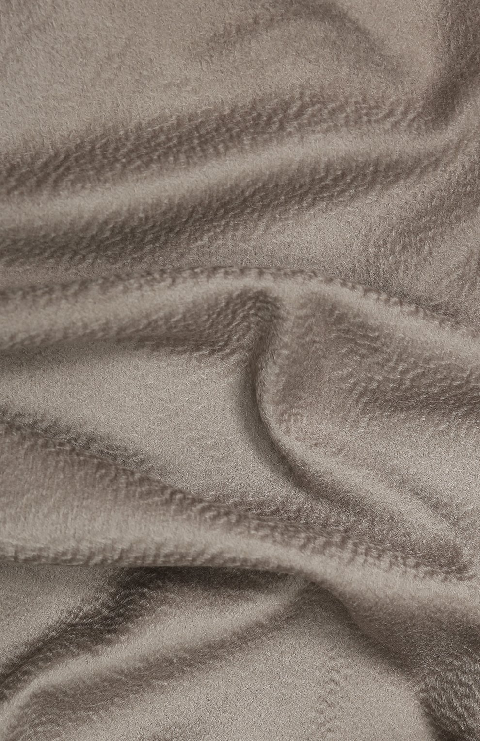 Мужского кашемировый плед LORO PIANA светло-серого цвета, арт. FAA1158 | Фото 2