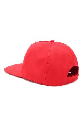 Детская хлопковая бейсболка BALMAIN красного цвета, арт. 6L0677/LX540 | Фото 2