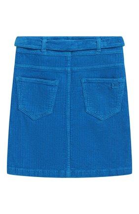 Детская вельветовая юбка с поясом INDEE голубого цвета, арт. FIRE/H0RIZ0N/12Y-18Y | Фото 2
