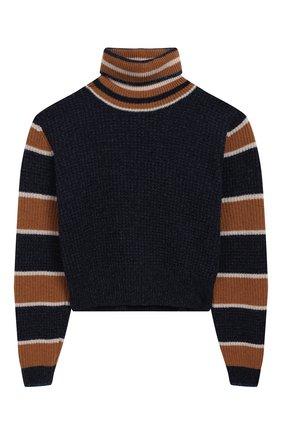 Укороченный свитер из шерсти | Фото №1
