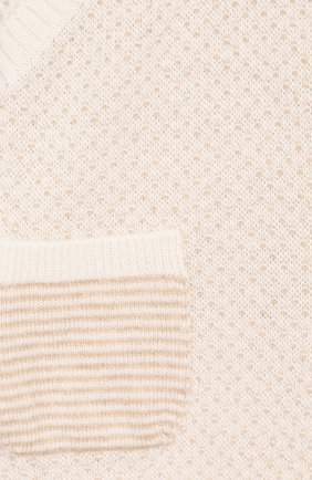 Детские кашемировые джоггеры LORO PIANA бежевого цвета, арт. FAI6022 | Фото 3