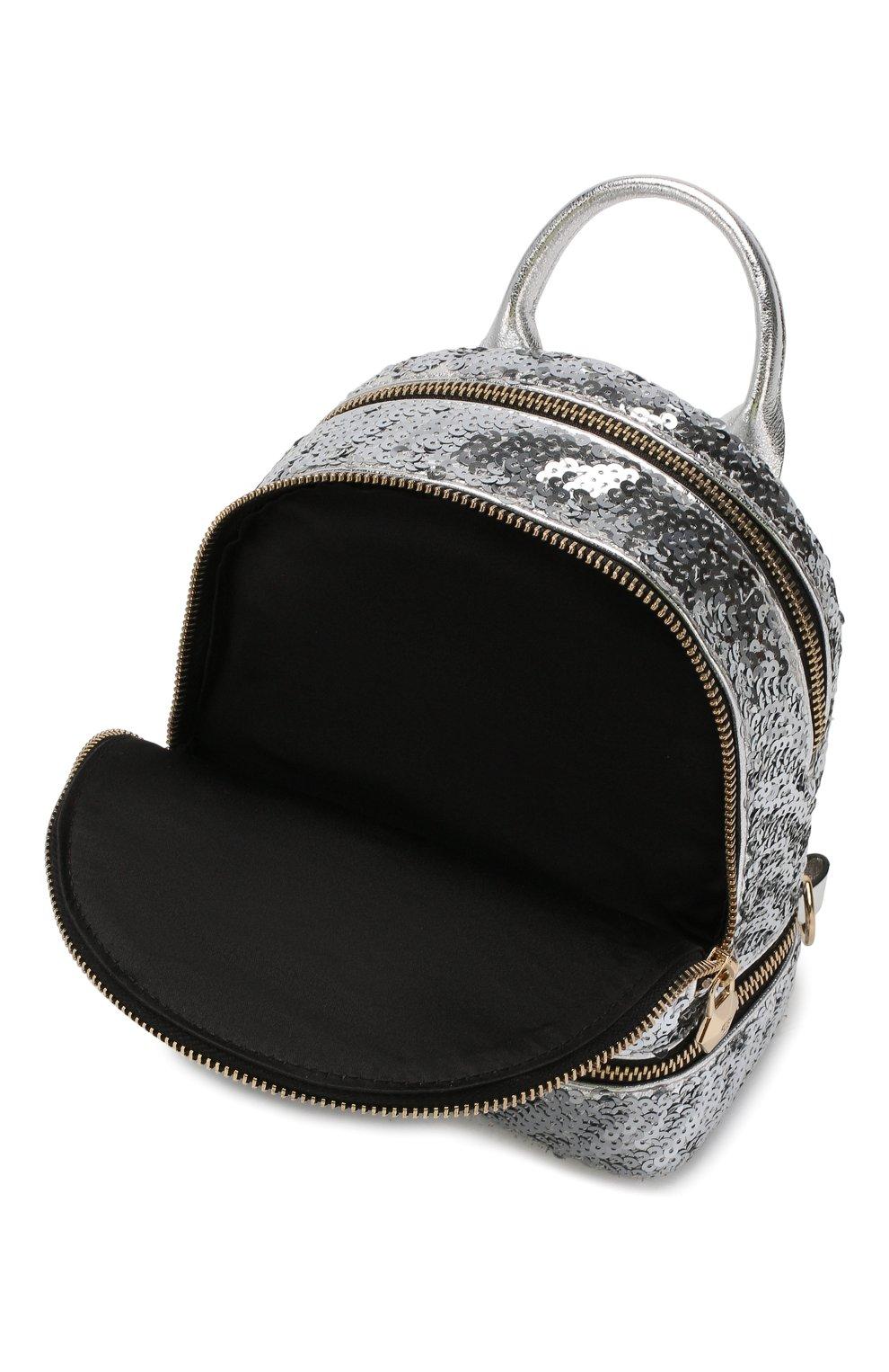 Женский рюкзак PHILIPP PLEIN серебряного цвета, арт. WBA0992 | Фото 4