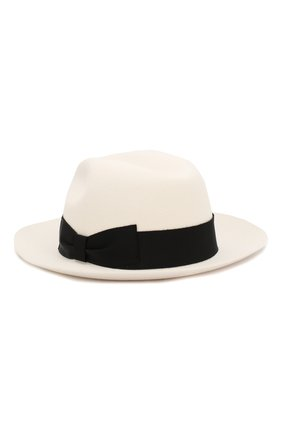 Женская фетровая шляпа DOLCE & GABBANA белого цвета, арт. FH482A/FUPV7 | Фото 2