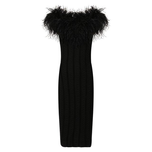 Платье из смеси шелка и вискозы Ralph Lauren