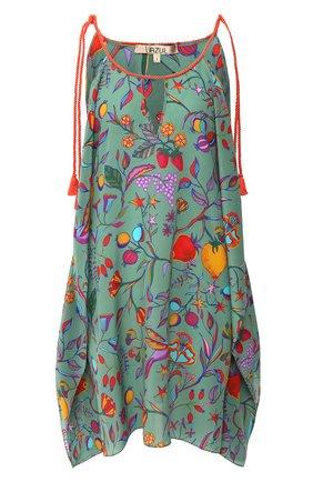 Женское шелковая туника LAZUL разноцветного цвета, арт. CYRA TUNIC/LIPARI | Фото 1