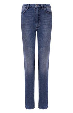Женские джинсы TOTÊME голубого цвета, арт. STANDARD DENIM 32 193-231-741 | Фото 1