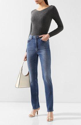 Женские джинсы TOTÊME голубого цвета, арт. STANDARD DENIM 32 193-231-741 | Фото 2