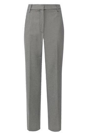 Женские брюки ALEXANDER WANG черно-белого цвета, арт. 1WC2194166 | Фото 1