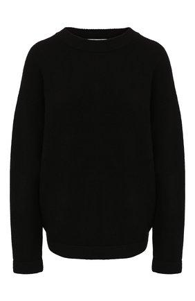 Женская шерстяной свитер ALEXANDERWANG.T черного цвета, арт. 4KC2191071 | Фото 1