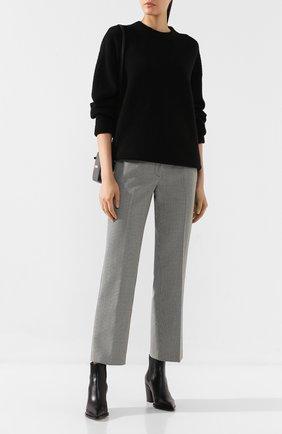 Женская шерстяной свитер ALEXANDERWANG.T черного цвета, арт. 4KC2191071 | Фото 2