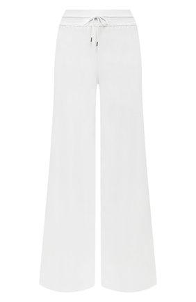 Женские брюки из смеси кашемира и шелка LORO PIANA белого цвета, арт. FAI8348 | Фото 1