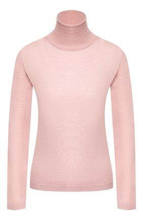 Женская водолазка из смеси шерсти и шелка REDVALENTINO светло-розового цвета, арт. SR0KC03R/4A7 | Фото 1