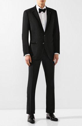 Мужской шерстяной пиджак BILLIONAIRE черного цвета, арт. MRF0952 | Фото 2