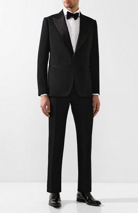 Мужская хлопковая сорочка LUIGI BORRELLI белого цвета, арт. EV08/FELICE DC/TS10605   Фото 2