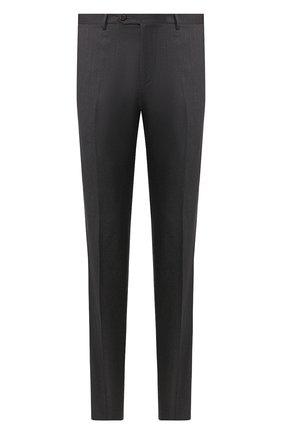 Мужской шерстяные брюки CORNELIANI серого цвета, арт. 845263-9818150/02 | Фото 1