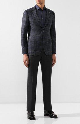 Мужской шерстяные брюки CORNELIANI серого цвета, арт. 845263-9818150/02 | Фото 2
