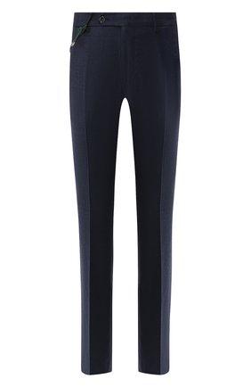 Мужской шерстяные брюки BERWICH синего цвета, арт. SC/1ALC/MZ1853X | Фото 1