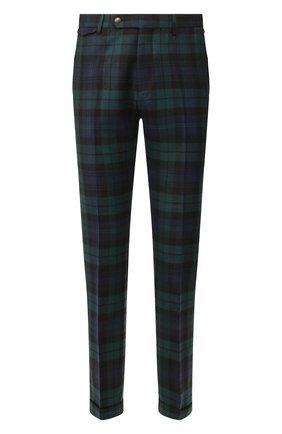 Мужской шерстяные брюки ANDREA CAMPAGNA разноцветного цвета, арт. VULCAN0/CA1800X | Фото 1