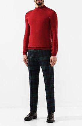 Мужской шерстяные брюки ANDREA CAMPAGNA разноцветного цвета, арт. VULCAN0/CA1800X | Фото 2