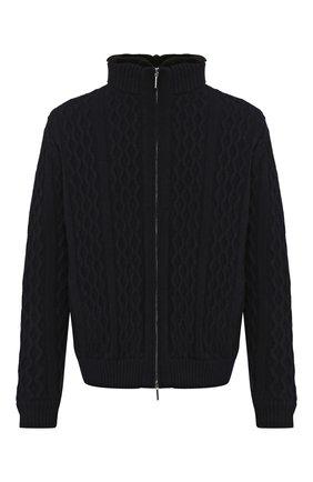 Шерстяная куртка с меховой подкладкой | Фото №1