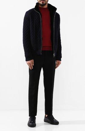 Шерстяная куртка с меховой подкладкой | Фото №2