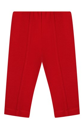 Детские брюки MONNALISA красного цвета, арт. 37CPAN | Фото 1
