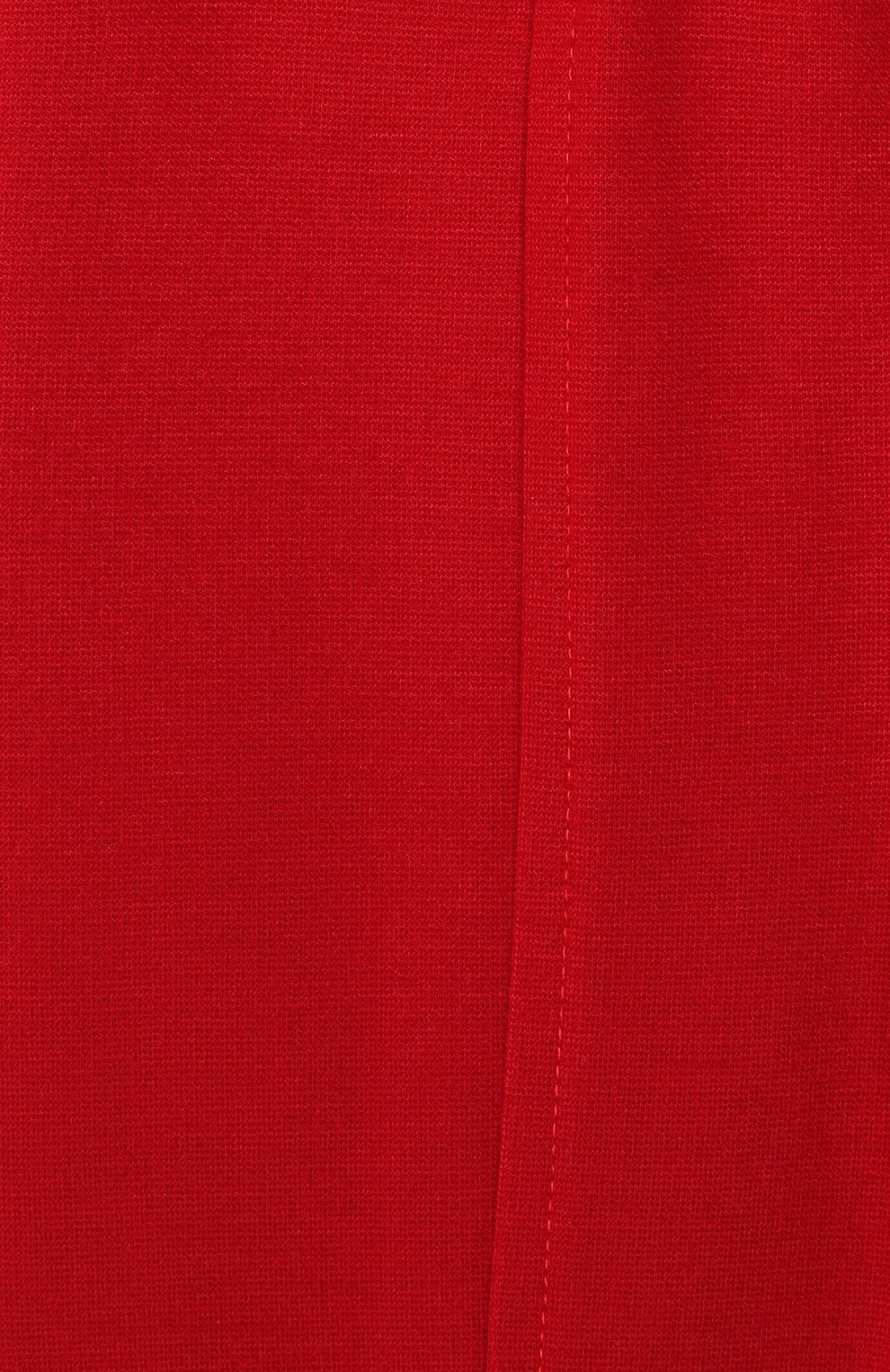Детские брюки MONNALISA красного цвета, арт. 37CPAN | Фото 3