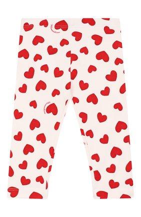 Детские леггинсы MONNALISA красного цвета, арт. 314411 | Фото 1