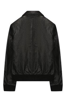 Детская куртка CALVIN KLEIN JEANS черного цвета, арт. IG0IG00203 | Фото 2