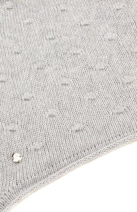 Детского шапка-ушанка bergamo CANOE светло-серого цвета, арт. 5914072.54 | Фото 3