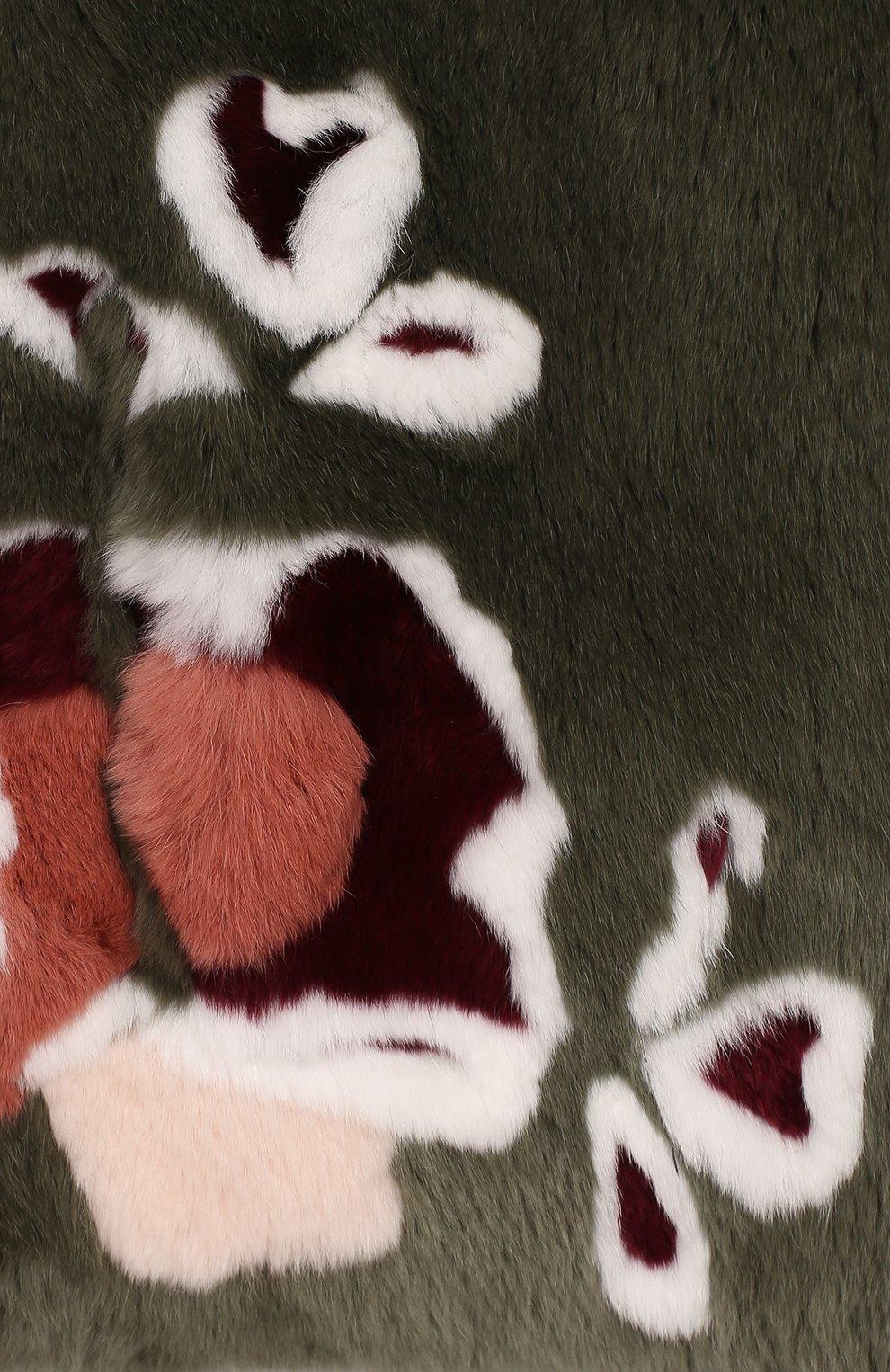 Меховой жилет | Фото №3