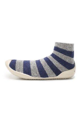 Детского домашняя обувь COLLEGIEN серого цвета, арт. 956C/18-35 | Фото 2