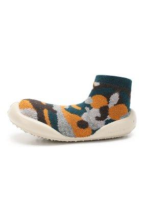 Детского домашняя обувь COLLEGIEN разноцветного цвета, арт. 955D/36-39 | Фото 2