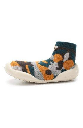 Детского домашняя обувь COLLEGIEN разноцветного цвета, арт. 955D/18-35 | Фото 2