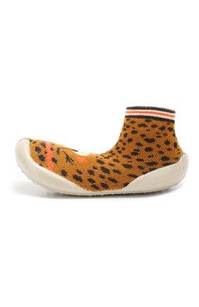 Детского домашняя обувь COLLEGIEN коричневого цвета, арт. 955C/36-39 | Фото 2
