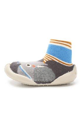 Детского домашняя обувь COLLEGIEN серого цвета, арт. 955B/18-35 | Фото 2
