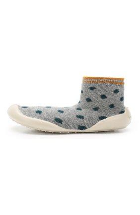 Детского домашняя обувь COLLEGIEN серого цвета, арт. 955A/36-39 | Фото 2