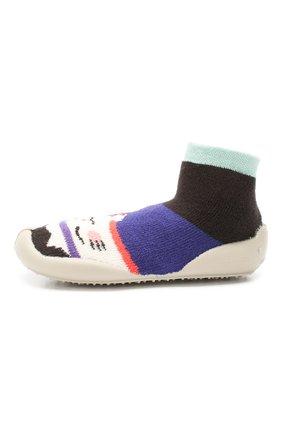 Детского домашняя обувь COLLEGIEN разноцветного цвета, арт. 953A/18-35 | Фото 2