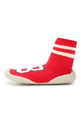 Детского домашняя обувь COLLEGIEN красного цвета, арт. 952C/36-39 | Фото 2
