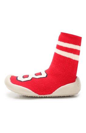 Детского домашняя обувь COLLEGIEN красного цвета, арт. 952C/18-35 | Фото 2