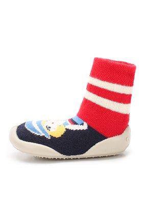 Детского домашняя обувь COLLEGIEN разноцветного цвета, арт. 952A/18-35 | Фото 2