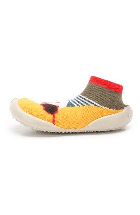 Детского домашняя обувь COLLEGIEN разноцветного цвета, арт. 951C/36-39 | Фото 2