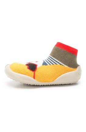 Детского домашняя обувь COLLEGIEN разноцветного цвета, арт. 951C/18-35 | Фото 2