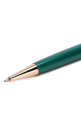 Мужского ручка шариковая crystalline SWAROVSKI зеленого цвета, арт. 5479562 | Фото 3