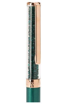 Мужского ручка шариковая crystalline SWAROVSKI зеленого цвета, арт. 5479562 | Фото 4