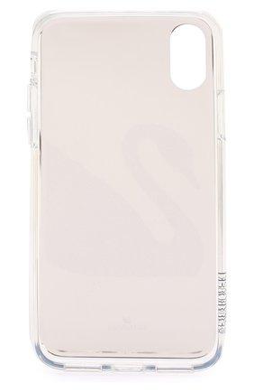 Мужской чехол для iphone x/xs SWAROVSKI серебряного цвета, арт. 5498552 | Фото 2