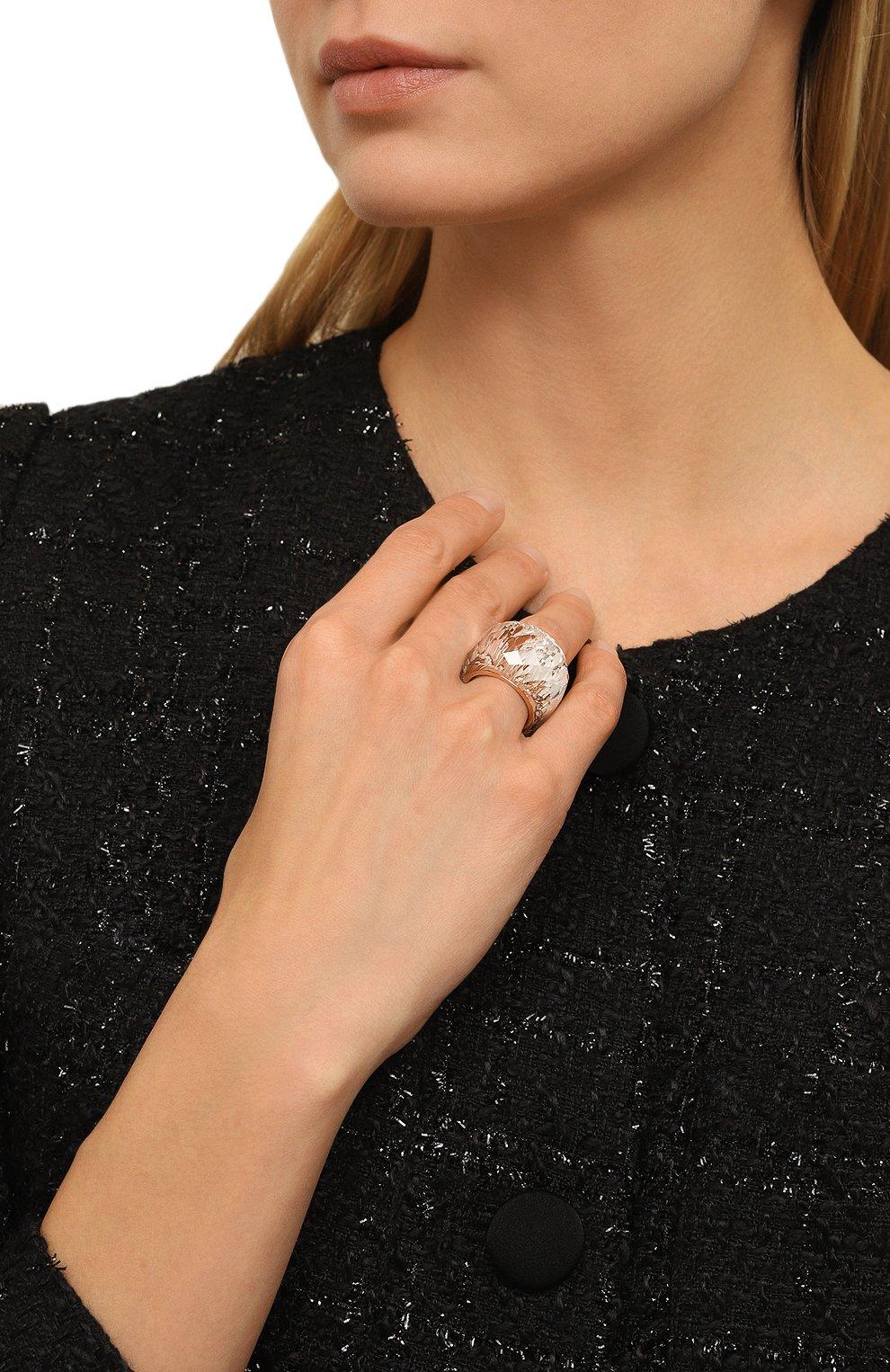 Женское кольцо nirvana SWAROVSKI золотого цвета, арт. 5410328 | Фото 2