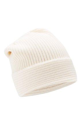 Женский шапка из смеси шерсти и кашемира ALLUDE белого цвета, арт. 195/17131 | Фото 1