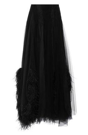 Женская юбка-макси RALPH LAUREN черного цвета, арт. 290775994 | Фото 1