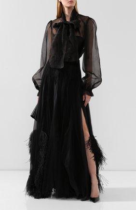 Женская юбка-макси RALPH LAUREN черного цвета, арт. 290775994 | Фото 2